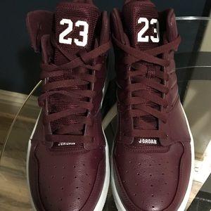 1154dedbeebbda Nike Shoes - NIB Jordan 1 Flight 4 Night Maroon Pure Platinum